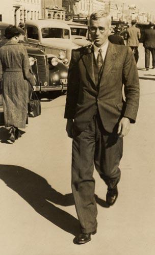 Hensleigh Carthew Marryat Norris, about 1940