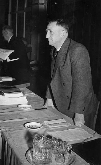Alexander Paterson O'Shea, 16 July 1950