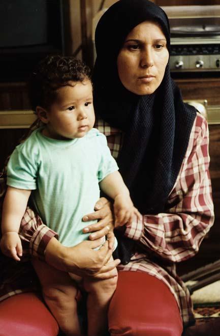 Iraqi mother and child