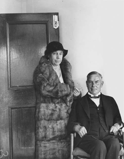 Mary Downie Stewart and William Downie Stewart