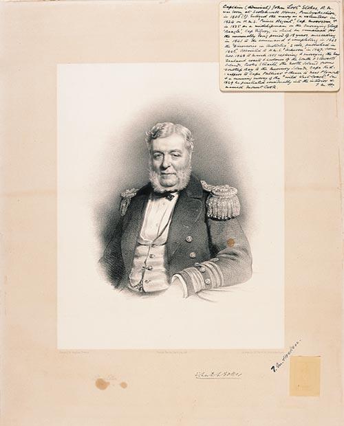 A portrait of John Lort Stokes