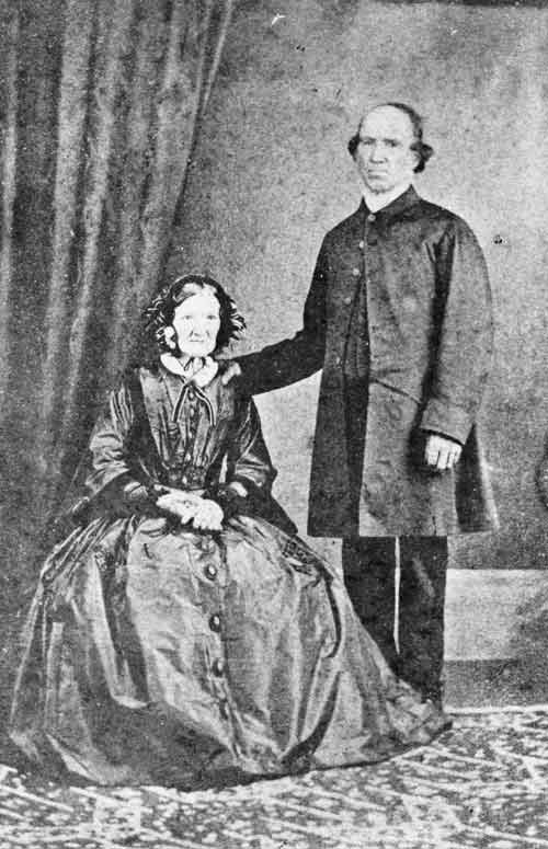 John Whiteley and his wife, Mary Ann