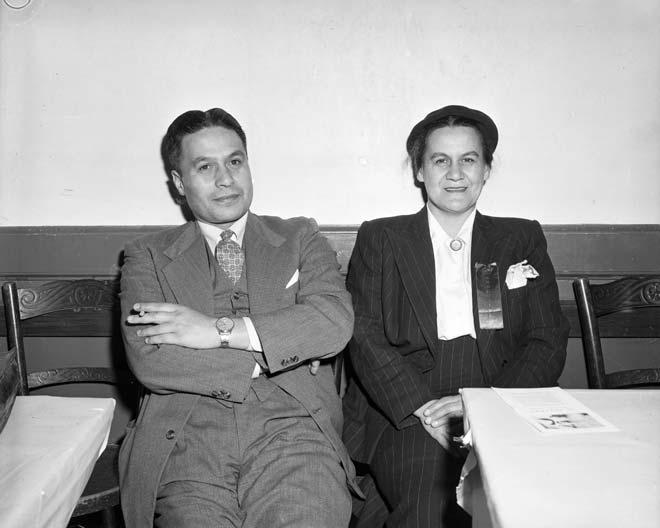 Rūmātiki Ruth Wright rāua ko Charles Moihi Te Arawaka Bennett