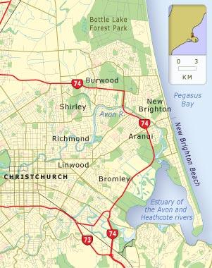 East Christchurch