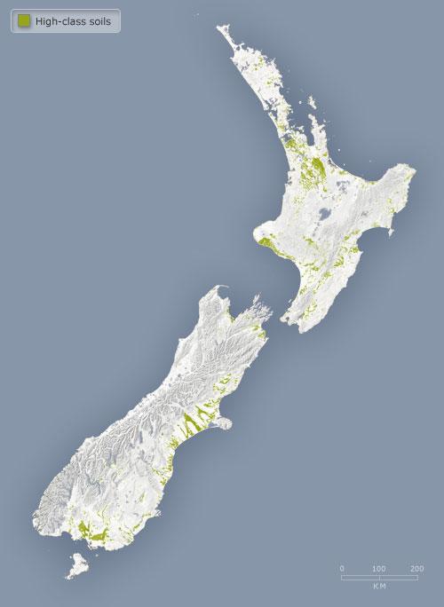 New Zealand's best soils