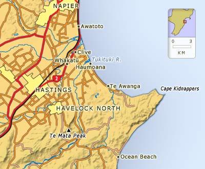 East of Hastings
