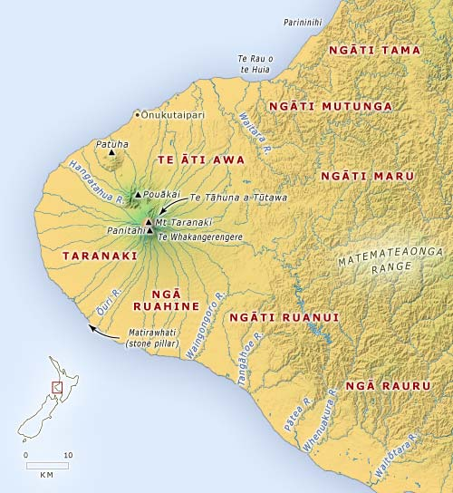 Tribal groups in Taranaki