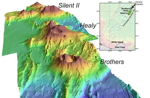 Kermadec volcanoes