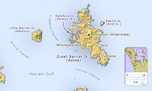 Barrier islands