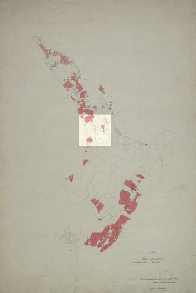 Māori land ownership, 1860