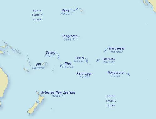 The naming of Hawaiki – Tapa whenua – naming places – Te Ara ...