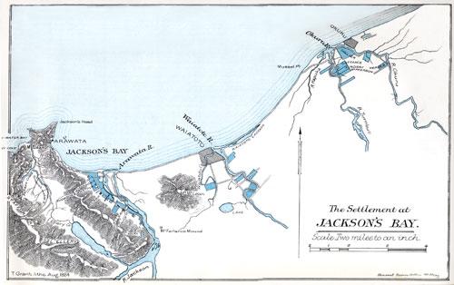 Settlement at Jackson Bay