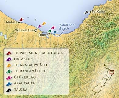 Ngā tauranga waka ki Te Moana-a-Toi