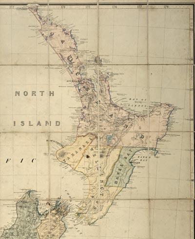 The New Zealand provinces, 1867