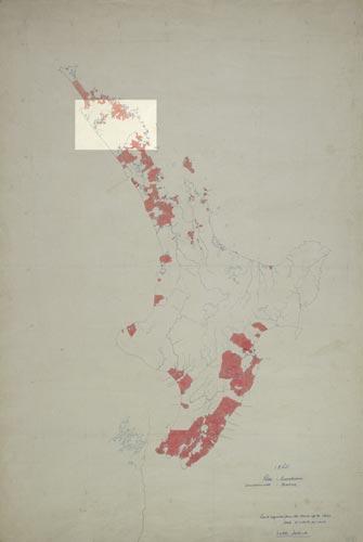 European land holdings, 1860