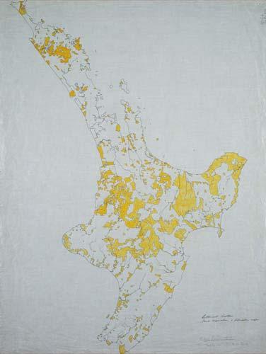 Māori-owned land, North Island, 1910