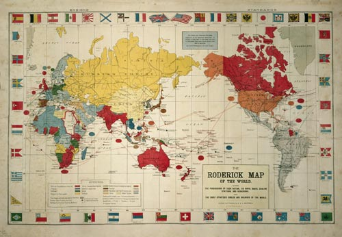 Map Of The British Empire In 1910 Has To Do With My Coverage Of