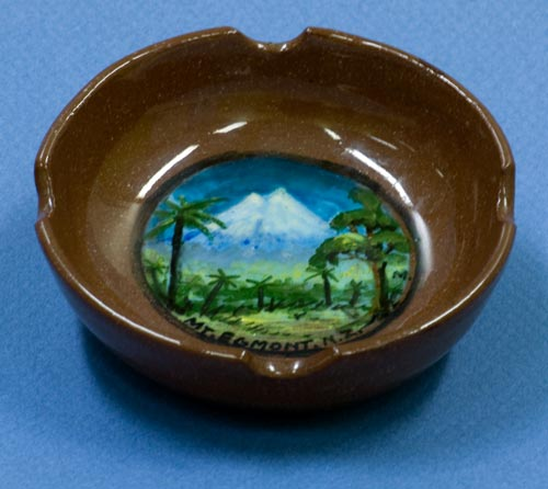 Mt Taranaki souvenir ashtray