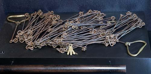 Frederic Carrington's survey chain