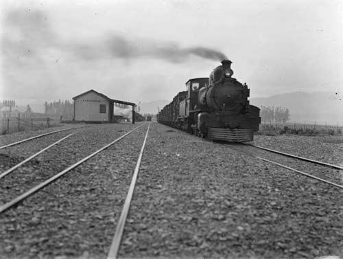 Parnassus railway station, 1917
