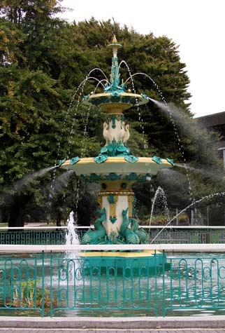 The Peacock fountain