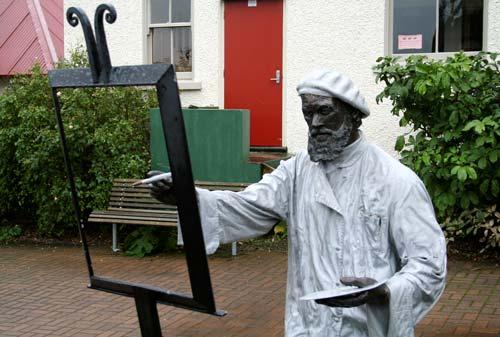 Statue of Charles Meryon