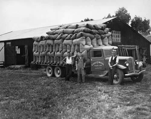 Transporting farm goods