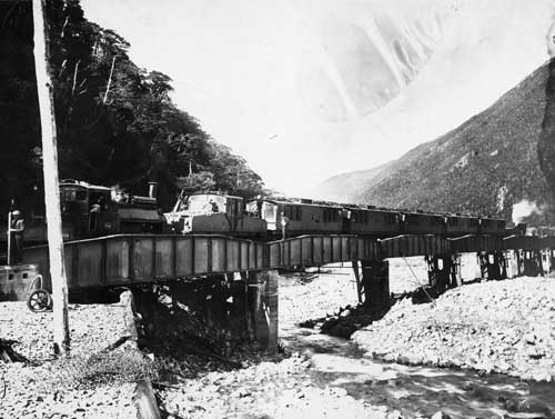 Bealey railway bridge, 1920s