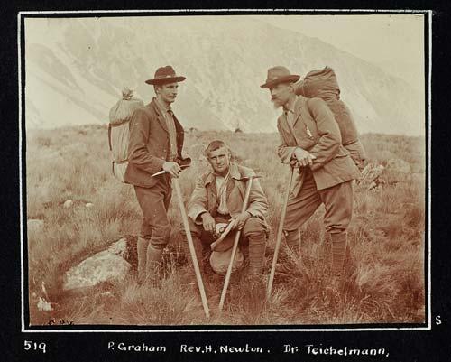 Graham, Newton and Teichelmann