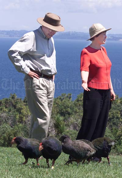 Prime ministers and takahē