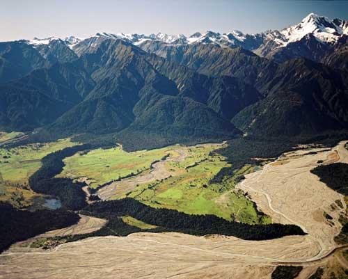 Waiho moraine loop, Franz Josef