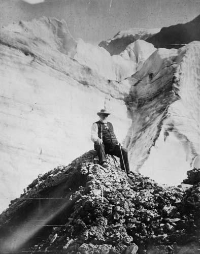 Richard Seddon at Franz Josef