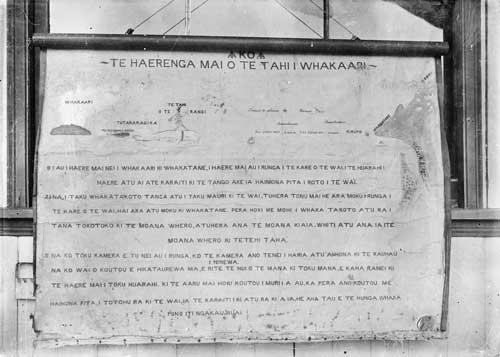 The journey of Te Tahi-o-te-rangi