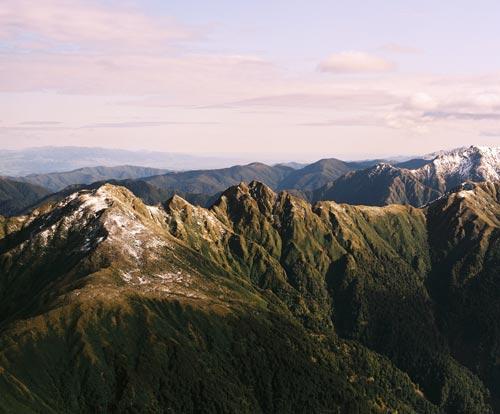 Tararua Range.