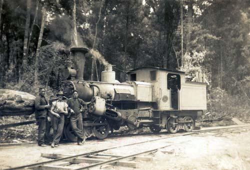 A. & G. Price geared locomotive