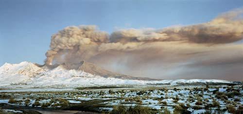 Mt Ruapehu Erupting Ash Soils Te Ara Encyclopedia Of
