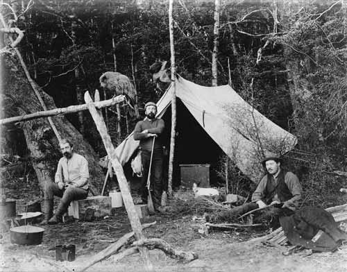 Quintin McKinnon in camp