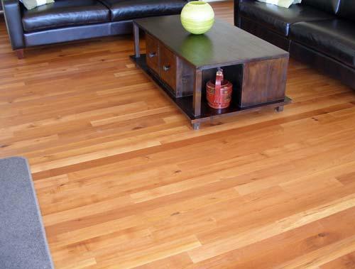 Red beech flooring