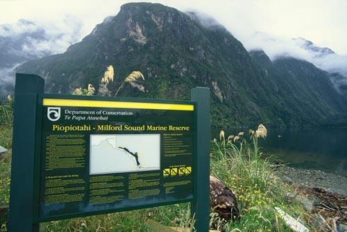 Piopiotahi–Milford Sound Marine Reserve