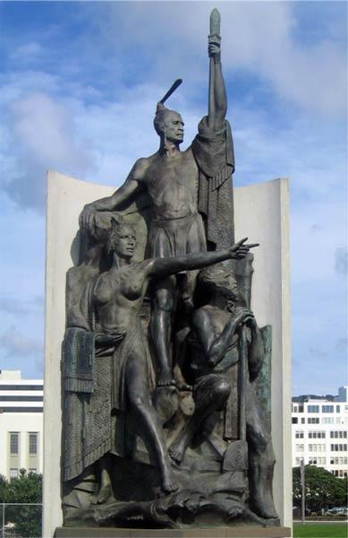 Statue of Kupe