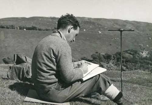 Harry gibbs soil scientist soil investigation te ara for Soil scientist