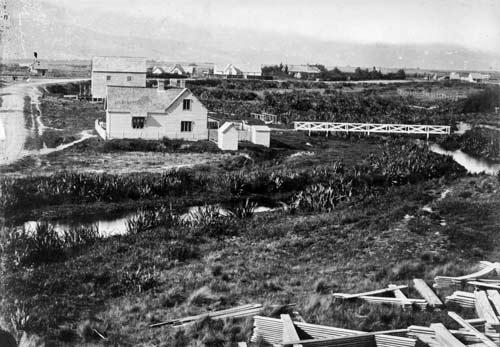 Christchurch, 1860