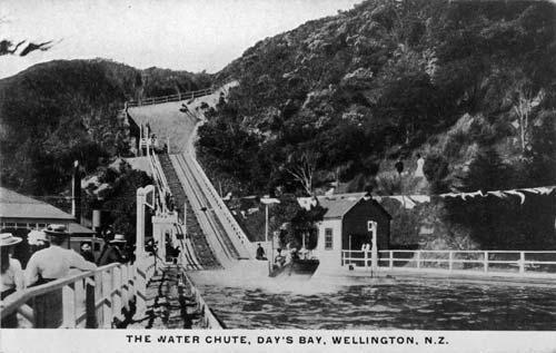 Days Bay water chute
