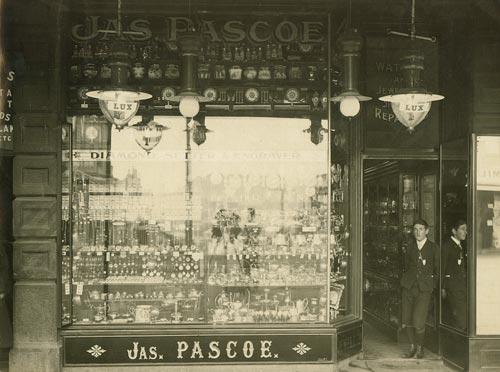 James Pascoe, 1907