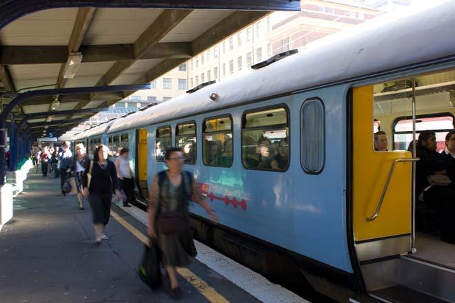 Wellington commuters