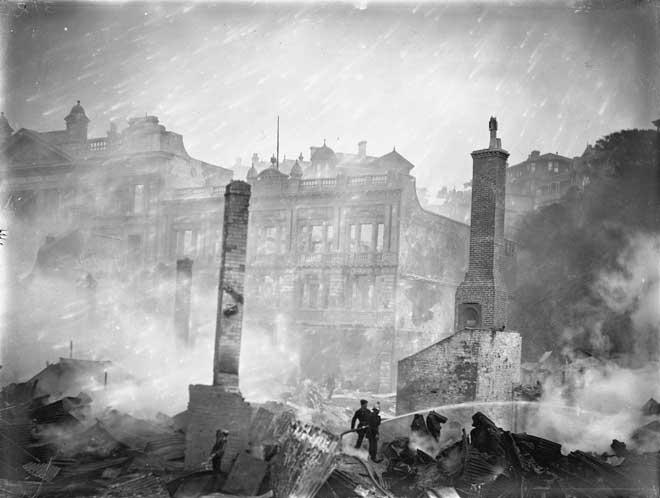 Wellington fire, 1906
