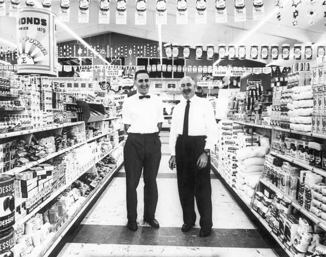 Abel's Supermarket, 1961