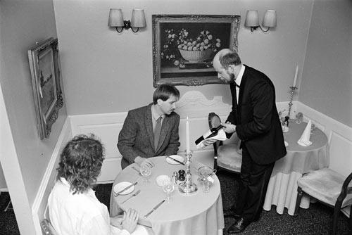 Orsini's restaurant, Wellington, 1988