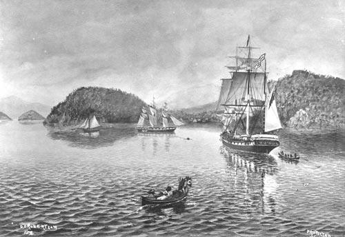 First settler ships
