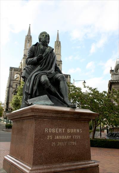 Robert Burns statue – Otago region – Te Ara Encyclopedia ...